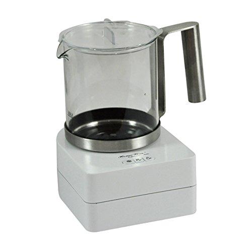 BBujsgH Completamente automatica a freddo e a caldo del latte con la schiuma è una macchina elettrica per caffè alla schiuma di latte con la schiuma magnetogyric bricco per latte coppa di vetro ,F280A - Bianco