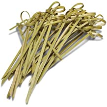 Ezee Bamboo Knot Skewers - 3.5 Inches (100 Pieces)