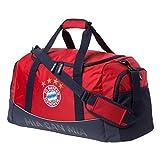 FC Bayern München Sporttasche mia san mia rot, Tasche FCB - Plus Lesezeichen I Love München
