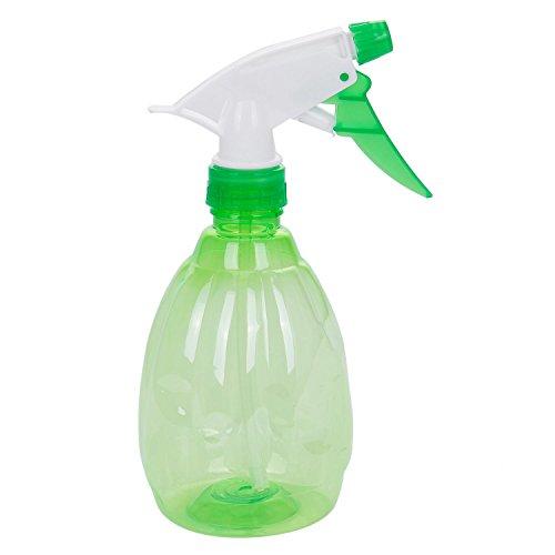 SODIAL 500ML vuota Spray bottiglia di plastica innaffiatura pulizia Giardino spruzzatore (verde)