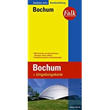 Falk Stadtplan Extra Standardfaltung Bochum