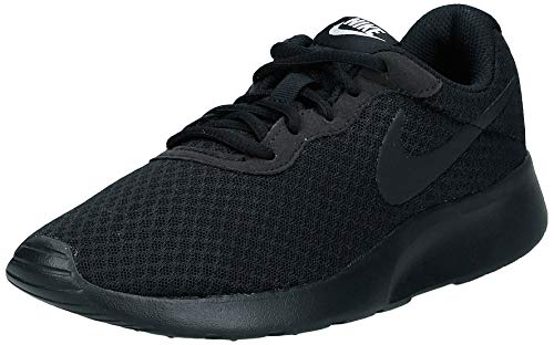Nike Damen WMNS Tanjun Laufschuhe, Schwarz (Black/Black/White 002), 41 EU
