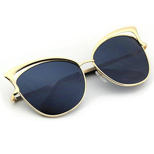 cgid moderne modische spiegel polarisierte katzenauge sonnenbrille brille uv400 beauty nails. Black Bedroom Furniture Sets. Home Design Ideas