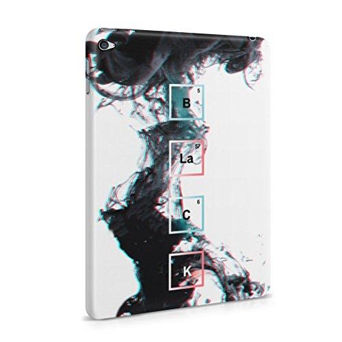 BLACK Periodic Chemical Elements Plastic Tablet Case Cover Shell For iPad Mini 4 Custodia