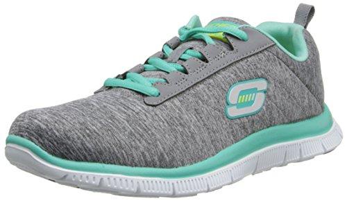 Skechers Flex AppealNext Generation Damen Sneakers Grau (Gymt)