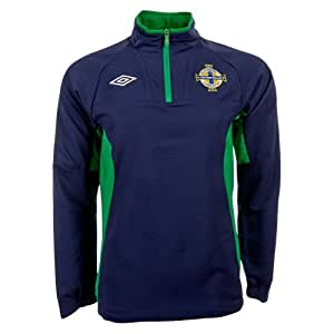 Umbro Northern Ireland Mens Training Top 71706U Navy XL