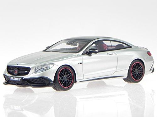 mercedes-c217-brabus-850-s63-coupe-silbgrau-modellauto-minichamps-143-437034221