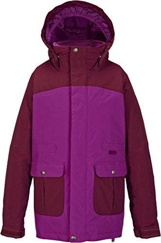 Burton Mädchen Snowboardjacke Girls Maddie Jacket, Grapeseed/Sangria, L, 15034100510