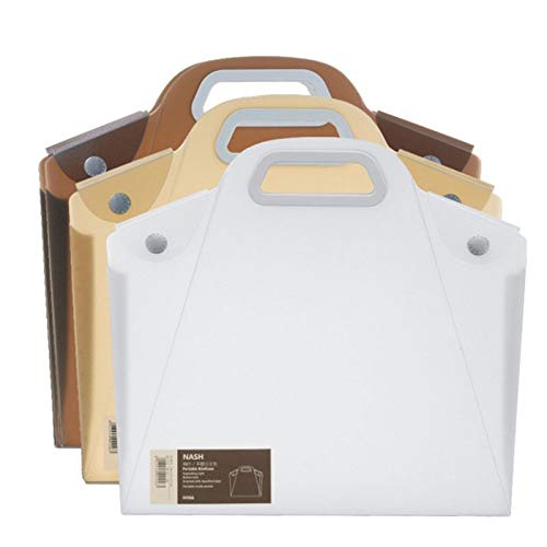Doppel Schnalle-tasche (A4 Langlebige transparente Datei Ordner Dateien Tasche Dokument Ordner Doppel Schnalle Schule Büro-Appliance - durchsichtig)