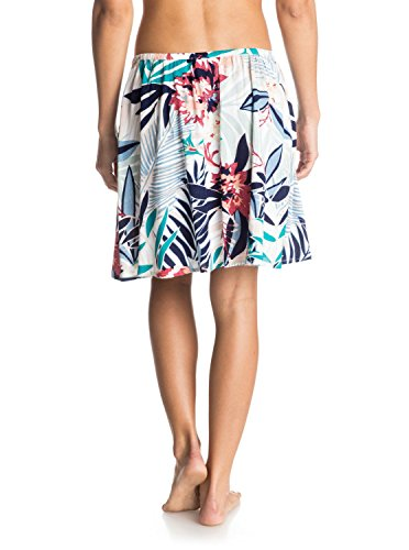 Roxy Damen Rock Cosmia Mini Skirt Canary Islands Floral A Combo