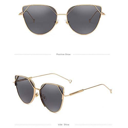 YUHANGH Retro Sonnenbrille Übergroßen Vintage Brille Metallrahmen Einzigartige Männer Shades Frauen Eyewear