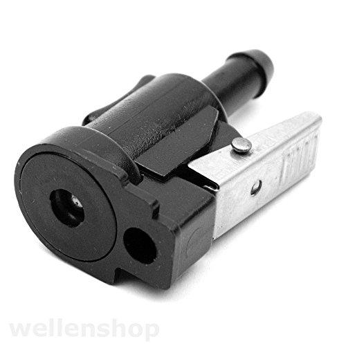 wellenshop Außenborder Motor-Anschluss Motor-Stecker kompatibel mit Yamaha Honda Mercury Mariner Adapter