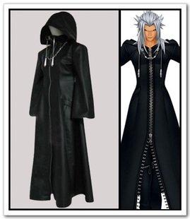 Sunkee Kingdom Hearts Organisation XIII Cosplay Kostüm, Größe S ( Alle Größe Sind Wie Beschreibung Gesagt, überprüfen Sie Bitte Die Größentabelle Vor Der Bestellung - Organisation Xiii Kostüm