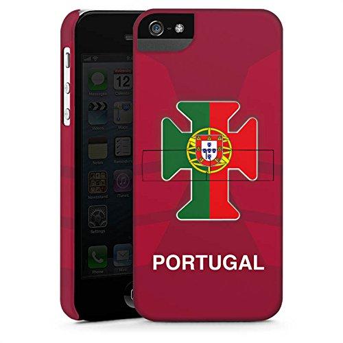 Apple iPhone X Silikon Hülle Case Schutzhülle Portugal EM Trikot Fußball Europameisterschaft Premium Case StandUp