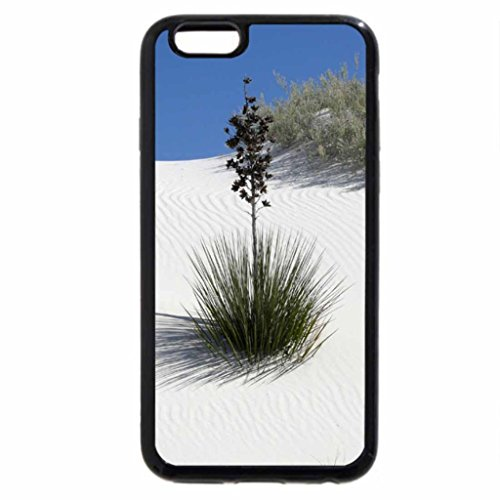 iPhone 6S / iPhone 6 Case (Black) Smooth White Sand