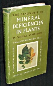 The diagnosis of mineral deficiencies in plants by visual symptoms. A colored atlas and guide