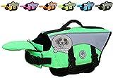 Vivaglory Hunde-Schwimmweste Float Coat Wassersport Schwimmhilfe Rettungsweste für Hunde Haustier