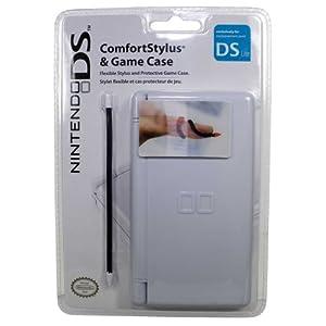 Nintendo DS Lite / DS – Game Case und flexibler Stift, pink, schwarz oder weiß (farblich sortiert)