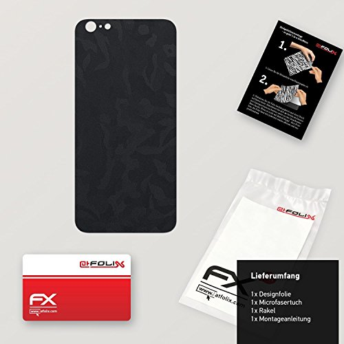 "Skin Apple iPhone 6 Plus ""FX-Variochrome-Spectral"" Sticker Autocollant FX-Camouflage-Black"