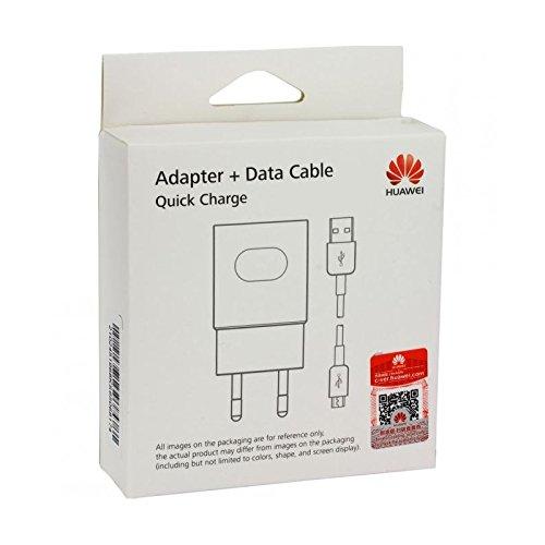 Huawei Caricabatterie Originale Ricarica Rapida AP32 per P8, P8 Lite, P9 Lite, P10 Lite, Mate 7, 8, Blister