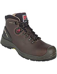 Zapatos de Seguridad Montantes Vibram II S3 HRO Würth Modyf brunes