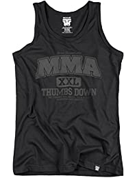 MMA Tank Top. Vest. The Strongest Will Survive. Broud & Glory. Thumbsdown Last Fight. Gladiator Bloodline. Martial Arts. Fightwear. Training. Casual. Gym. MMA T-shirt