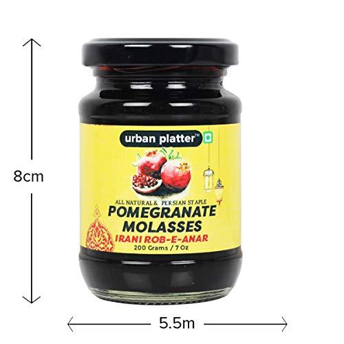 Urban Platter Pomegranate Molasses, 200g [Rob-e-Anar, Premium Molasses]