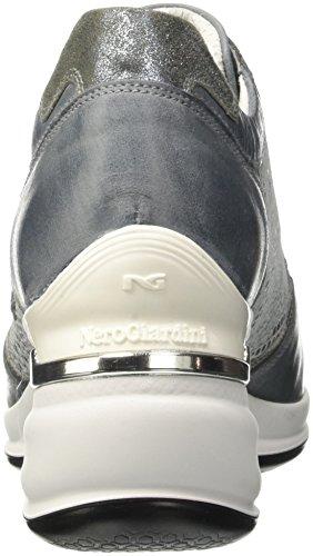 Nero Giardini P717050d, Sneaker a Collo Basso Donna Blu (205)