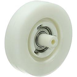 Roulette de tambour Sèche-linge 481010456115 WHIRLPOOL, BAUKNECHT, LADEN, IGNIS, INDESIT, KITCHENAID