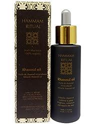 Hammam Ritual Huile de Rhassoul Anti-Rides/Anti-âge Bio pour Soin Visage - Régénération Intense et Nutrition