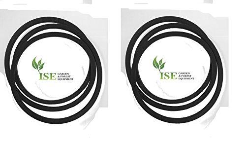 Ise® Ersatz-Laufwerk Gürtel und Deck Gürtel für CUB Cadet 1018KHN ersetzt Teilenummern: 754-04304und 754-04069 -