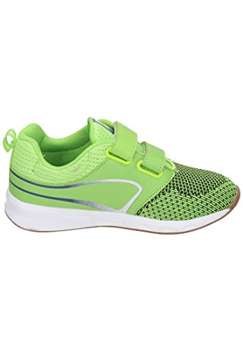 KangaROOS Unisex-Kinder Ron I V Sneaker Grn