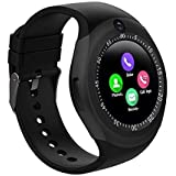 THE SHIFT Smartwatch Y1s Bluetooth Smartwatch, Android Smartwatch with Camera/SIM Card Slot Sports Watch Compatible with Smar