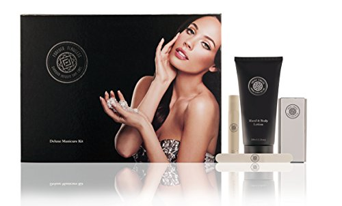 Forever Flawless BRILLIANCE Nail Care Kit - the ULTIMATE Natural long lasting SHINE without harsh chemicals (Lotion Body Forever)