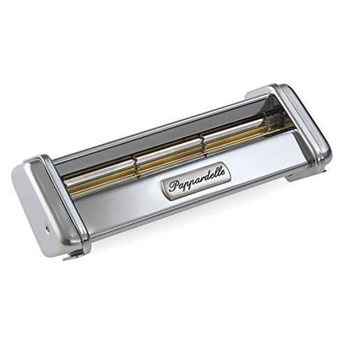 Marcato AC-150-PAP Accessorio Pappardelle per Macchina per la Pasta Atlas 150, Acciaio Cromato, Argento, 8x17.7x4.5 cm