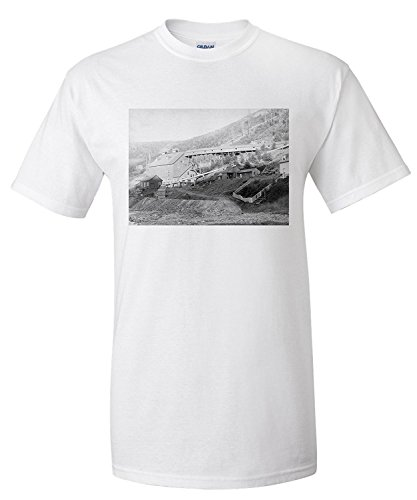 ca70187c2df De Smet Gold Stamp Mill in Central City Photograph (Premium T-Shirt)