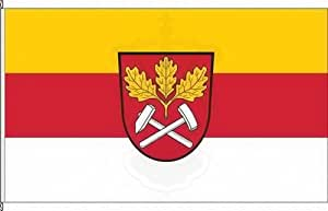 Königsbanner Hochformatflagge Laufach - 150 x 500cm - Flagge und Fahne