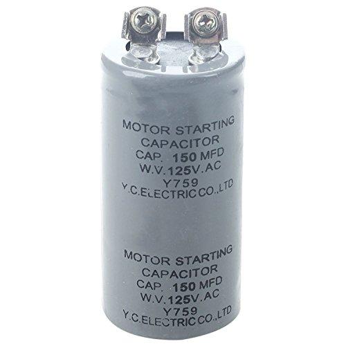 SODIAL(R) Zylinder 150MFD 125VAC Motor Starting Run Kondensator (Motor 125v)