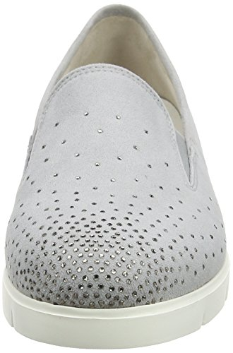 Gabor Shoes Comfort, Ballerine Donna Grigio (light greyStrass)