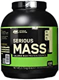 Optimum Nutrition Serious Mass Weight Gainer (mit Kohlenhydrate, Whey Eiweißmischung Pulver, Vitaminen, Kreatin und Glutamin, Protein Shake von ON) Vanilla, 8 Portionen, 2,72kg