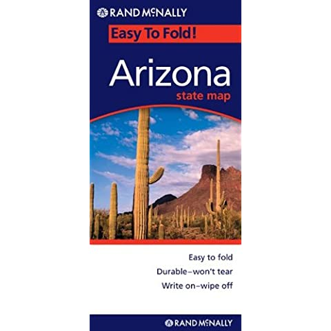 Easy To Fold Arizona State Map: Highways