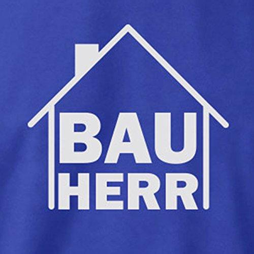 TEXLAB - Bauherr - Langarm T-Shirt Weiß
