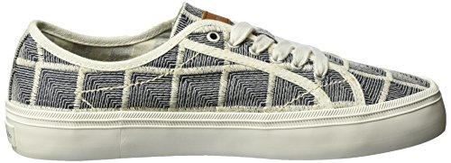 Marc O'Polo 70213923501612 Sneaker, Sneakers basses femme Mehrfarbig (white/blue)