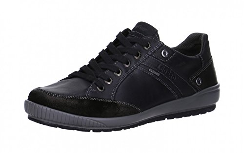 Legero La scarpa leggera Men Gore-Tex Pizzo 5-00669-02 nero Nero