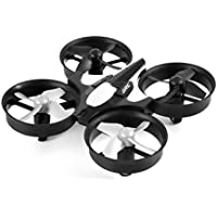 Price comparsion for OWIKAR Mini Quadcopter Drone UAV RC Aircraft 2.4GHz 6-Axis Gyro 4 Channel LED Light Headless Mode Remote Control Airplane Flight Vehicle Flying Toy- Gray