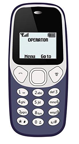 I KALL 1.44 inch (3.65 cm) Single Sim Feature Phone - K71 (Dark Blue)