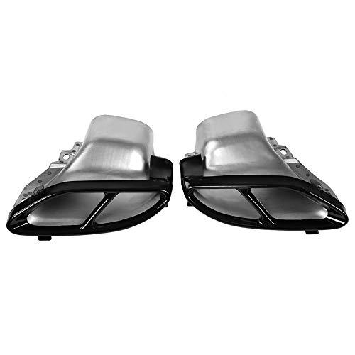 Outbit Auspuffspitze - 2 PC Auto Schalldämpfer Endrohr für Mercedes Benz A/B/C/E-Klasse W205 W212 W213.