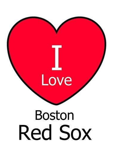 I Love Boston Red Sox: White Notebook/Journal for Writing 100 Pages, Boston Red Sox Baseball Gift for Men, Women, Boys & Girls por Kensington Press