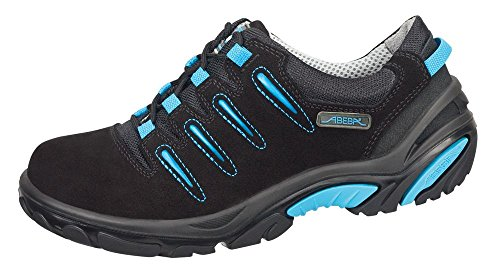 Abeba 4581-48 Crawler Chaussures de sécurité bas Taille 48 Noir/Bleu