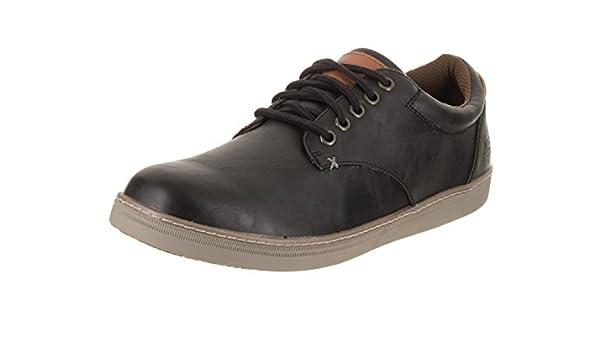 Entre Interpretativo Impresionismo  Skechers Lifestyle 65272 Men's Helmer Steven Shoe, Black Leather ...